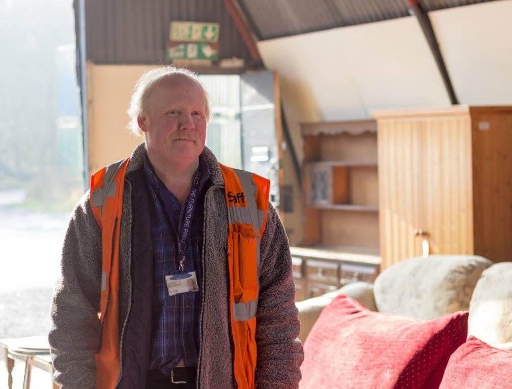 Raymond Brindley, warehouse sales